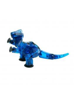 Стикбот Динозавр Велоцираптор синий
