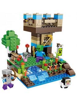 Конструктор PRCK Башня у водопада 63013 (Minecraft ) / 264 детали