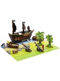 Набор Анимационная студия Пиратский корабль