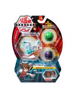 Стартовый набор из 3-х Бакуганов Bakugan Battle Browlers Start Set от SB Микс