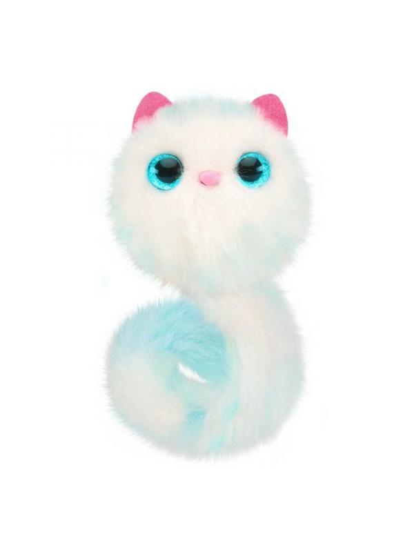 Интерактивный котенок Помси «Снежок»