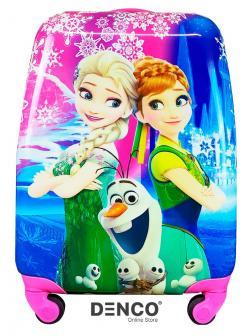 Детский чемодан «Анна, Эльза и Олаф: Холодное сердце (Frozen Heart)» / S