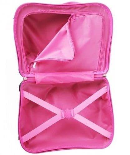 Чемодан-каталка Принцессы Диснея (Disney Princess) розовый.