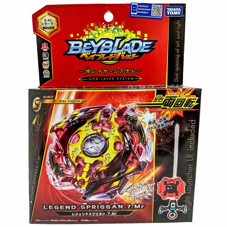 Волчок BEYBLADE Burst Легендарный Спрайзен С3 (Legend Spriggan) B-86 от Takara Tomy