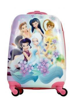 Детский чемодан Принцессы Диснея (Disney Princess) сиреневый