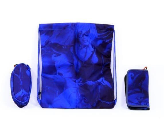 Детский чемодан Мстители (Avengers Marvel) синий
