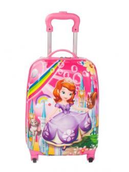 Детский чемодан Принцесса София (Princess Sofia) фуксия