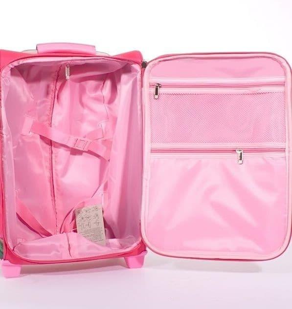 Детский чемодан Принцесса София (Princess Sofia) розовый