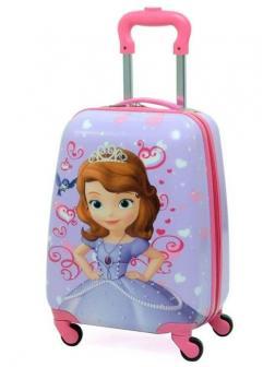 Детский чемодан Принцесса София (Princess Sofia) сиреневый