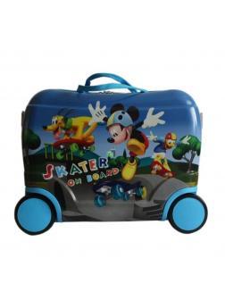 Чемодан-каталка Микки Маус (Mickey Mouse) синий