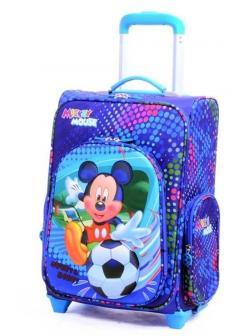 Детский чемодан Микки Маус (Mickey Mouse) синий