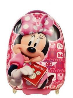 Детский чемодан Минни Маус (Minnie Mouse) розовый