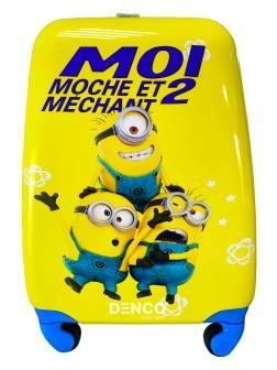 Детский чемодан 3 Миньона (Minions) / S / Жёлтый