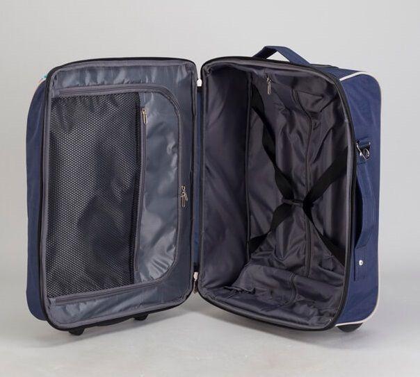 Детский чемодан BagBerry Игрушки тёмно-синий