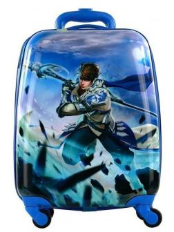 Детский чемодан Аниме (Anime) синий