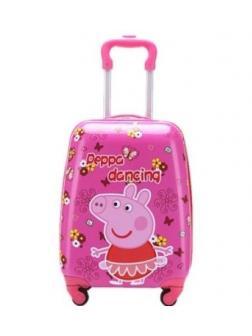 Детский чемодан Свинка Пеппа (Peppa Pig) / S / Розовый