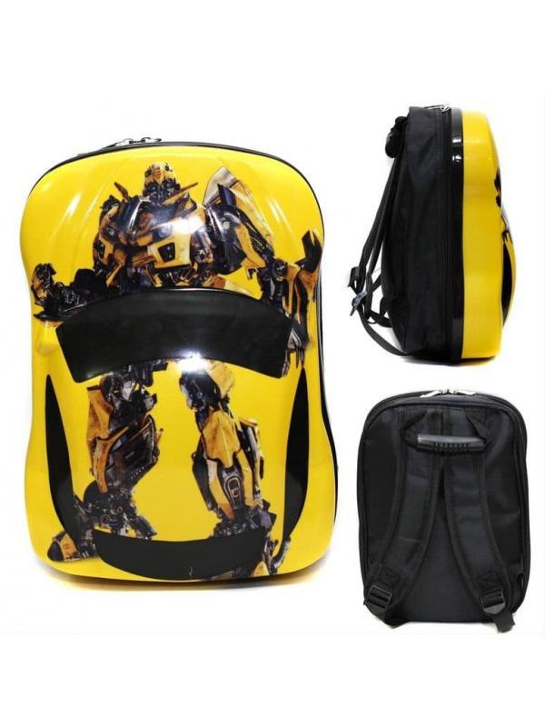 Детский рюкзак Трансформеры Бамблби (Transformers) жёлтая машина