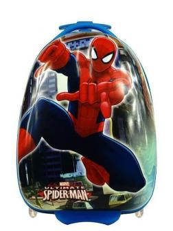 Детский чемодан Человек-паук (Spider-man) синий