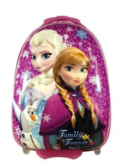 Детский чемодан Холодное Сердце (Frozen) фиолетовый