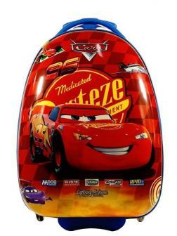 Детский чемодан Тачки МакВин (The Cars McQueen) красный