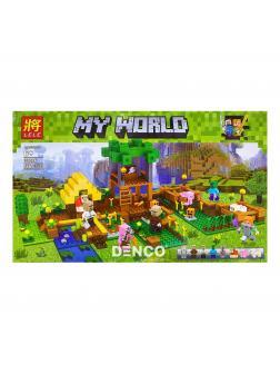 Конструктор Ll MY World «Огород в деревне» 33286 (Minecraft) 556 деталей