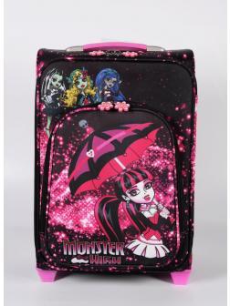 Детский чемодан Школа монстров Монстер Хай ( Monster High) чёрный