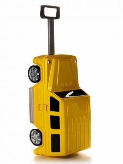 Детский чемодан машина Мерседес (Mercedes Benz) жёлтый