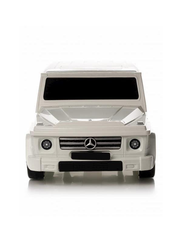 Детский чемодан машина Мерседес (Mercedes Benz) серый