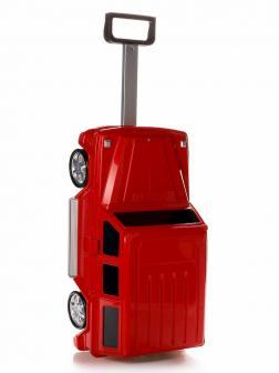 Детский чемодан машина Мерседес (Mercedes Benz) красный