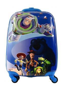 Детский чемодан История игрушек (Toy Story) Синий