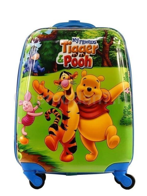 Детский чемодан Винни Пух и Тигра. Размер S.