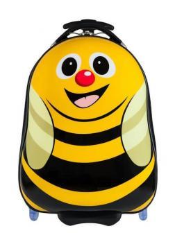 Детский чемодан Пчёлка жёлтый. Размер S.