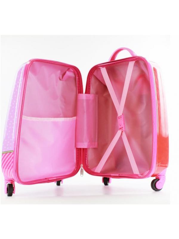 Детский чемодан Куклы ЛОЛ (LOL) сиреневый
