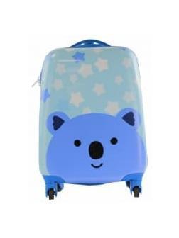 Детский чемодан Коала голубой Размер S.