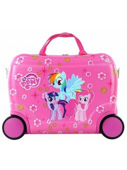 Чемодан-каталка My Little Pony розовый