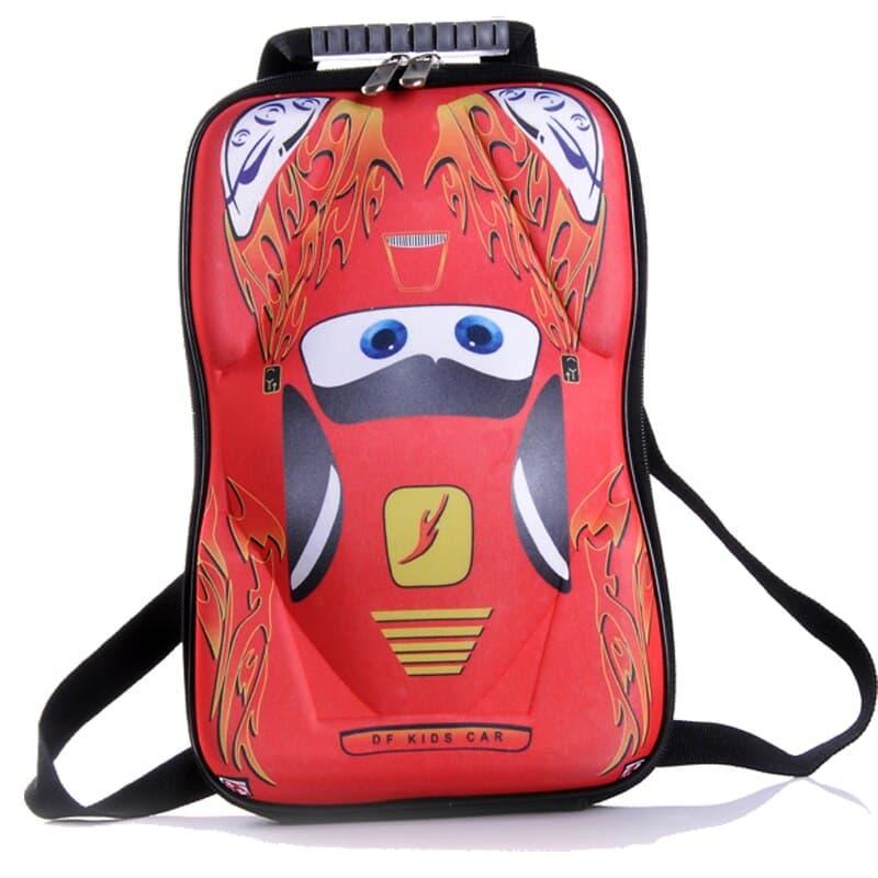 Детский рюкзак Тачки МакВин (The Cars McQueen) красная машина