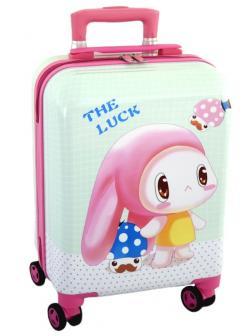 Детский чемодан Зайчик белый Размер S