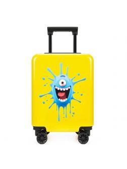 Детский чемодан Циклоп жёлтый M