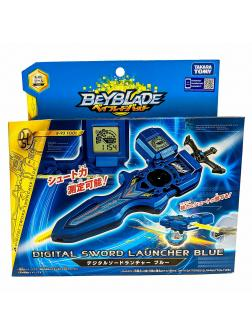 Запускатель BEYBLADE Burst «Электронный Меч Ксандера Шакадера» (Digital Sword Launcher Blue) B-93 от Takara Tomy