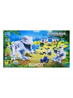 Конструктор Zuanma Парк Юрского периода (Jurassic World) «Атака белого Тираннозавра» 049-1