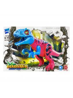 Конструктор Zuanma Парк Юрского периода (Jurassic World) «Тиранозавр» со звуком 040-1
