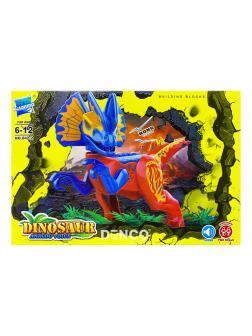 Конструктор Zuanma Парк Юрского периода (Jurassic World) «Дилофозавр» со звуком 042-2