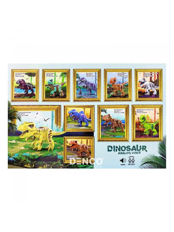 Конструктор Zuanma Парк Юрского периода (Jurassic World) «Тиранозавр» со звуком 047-2