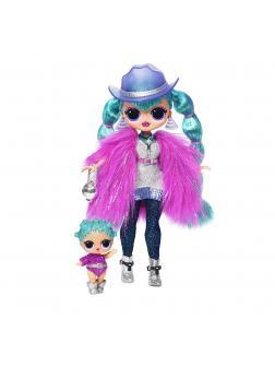 Игровой набор L.O.L. Surprise O.M.G. Cosmic Nova Fashion Doll & Sister «Зимняя Дискотека»