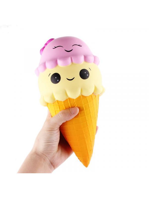 Игрушка-антистресс Squishy Сквиши «Мороженое» 16 см.