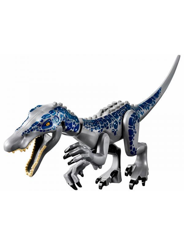 Конструктор Lari «Поединок с бариониксом: охота за сокровищами» 11335 (Jurassic World 75935) / 458 деталей