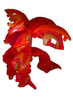 Фигурка-трансформер Бакуган Драго Драгоноид Ультра (ограниченная серия) Красный Bakugan Dragonoid Ultra от SB