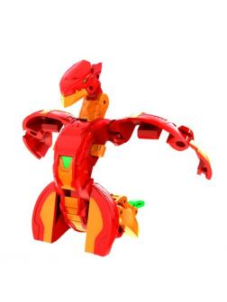 Фигурка-трансформер Бакуган Серпентиз Ультра (Bakugan Serpenteze Ultra Pyrus) от SB / Красный