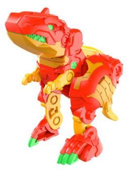 Фигурка-трансформер Бакуган Тирранозавр Трокс Ультра Красный Bakugan Trox Ultra от SB