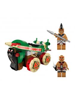 Конструктор Enlighten «Баллиста индейцев» Legendary Pirates 1304 / 144 детали
